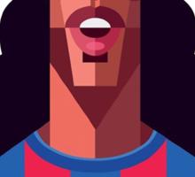 Ronaldinho Football Soccer Barcellona Barcelona calcio  Sticker
