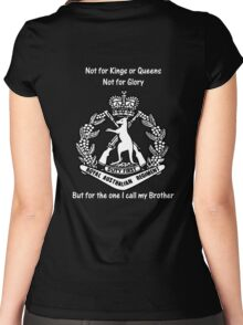For My Brother Women's Fitted Scoop T-Shirt
