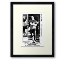 Ben Affleck - Jamba Juicer Framed Print