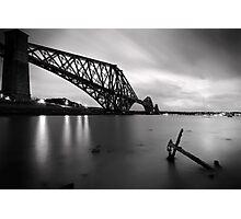 The Forth Rail Bridge crossing between Fife and Edinburgh, Scotland. Photographic Print
