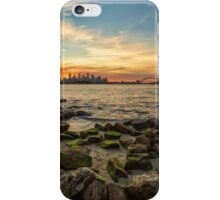 Sunset from Bradley's Head iPhone Case/Skin
