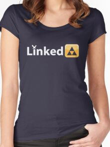 Linked To The Past Women's Fitted Scoop T-Shirt