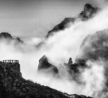 Isle in the clouds by DCarlier