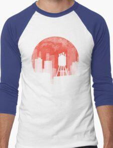 Four Ninjas - RED Men's Baseball ¾ T-Shirt