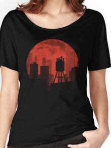 Four Ninjas - RED Women's Relaxed Fit T-Shirt