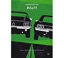 No214 My BULLITT minimal movie poster Photographic Print