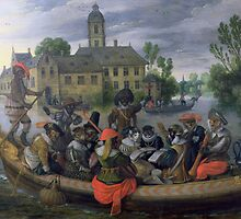 The Boating Party by Bridgeman Art Library