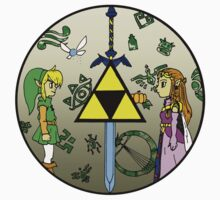 Hyrule Historia Kids Clothes