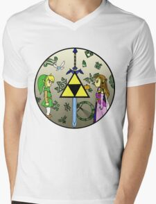 Hyrule Historia Mens V-Neck T-Shirt