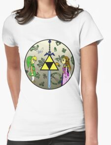 Hyrule Historia Womens Fitted T-Shirt