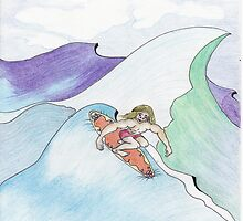 The Surfer Dude by merrilymccarthy
