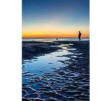An Evening at the Beach Photographic Print