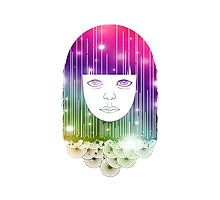 Space Girl Photographic Print