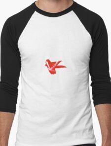 Brush Stroke Men's Baseball ¾ T-Shirt