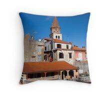 Old City of Zadar in Croatia Throw Pillow