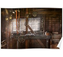 Steampunk - Machinist - My tinkering workshop  Poster
