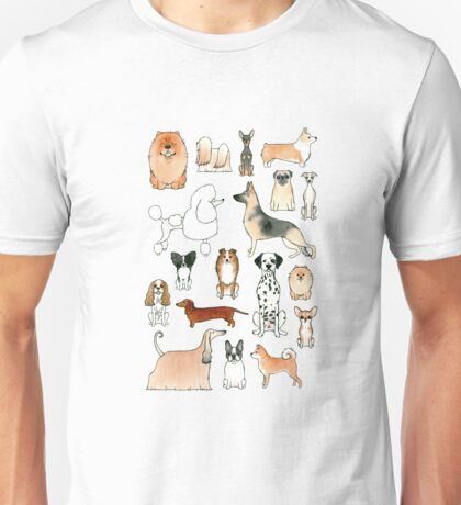 Dogs Unisex T-Shirt