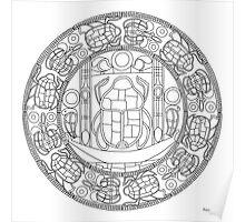 Resurrection Mandala - Print, Paint-You-Own Poster