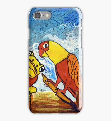 Parrots Office iPhone Case/Skin