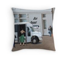 When the bus driver yelled out, 'time to get loaded' Dudley completely misunderstood. Throw Pillow