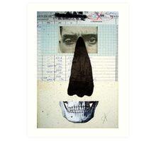 RETRATO DE UN DESCONOCIDO (portrait of an unknown person) Art Print