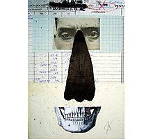 RETRATO DE UN DESCONOCIDO (portrait of an unknown person) Photographic Print