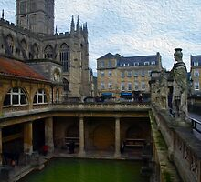 The Roman Baths by GraemeHeddle