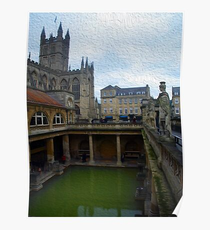 The Roman Baths Poster