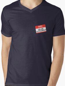 Hello My Name Is... Julius Pepperwood | New Girl Mens V-Neck T-Shirt