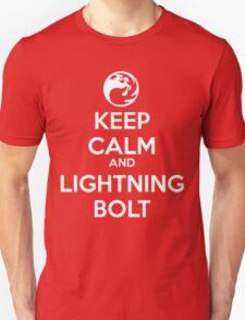 Keep Calm and Lightning Bolt T-Shirt