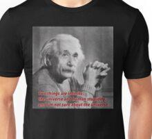 Einstein Quote Unisex T-Shirt