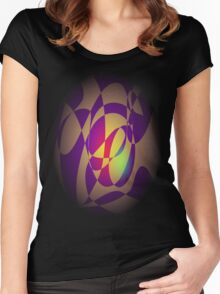 Yellow Flame Women's Fitted Scoop T-Shirt
