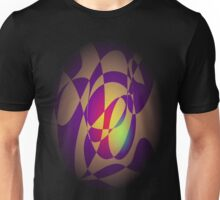 Yellow Flame Unisex T-Shirt