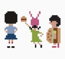 Bob's Burgers 8bit - Belcher Children - [Top] by Hrern1313