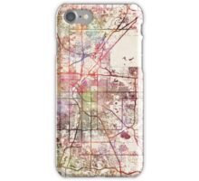 Denver map iPhone Case/Skin