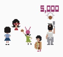 Bob's Burgers 8bit - All Top by Hrern1313