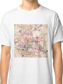 Denver map Classic T-Shirt