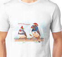 Festive Finches Unisex T-Shirt