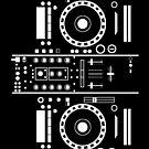 Pegasi DiskPlayer Mixer (Electronic TurnTable) by Pegasi Designs