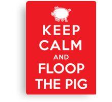 Floop the Pig Canvas Print