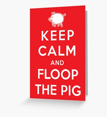 Floop the Pig Greeting Card