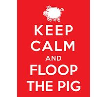Floop the Pig Photographic Print