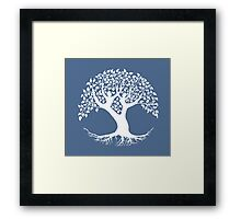 The Lovers Tree of Life Framed Print