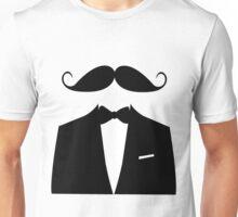Moustache Tuxedo T-shirt Unisex T-Shirt