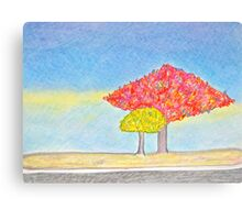 Fall Trees in Woodbridge Canvas Print