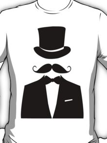 Distinguished Gentleman Moustache T-shirt T-Shirt