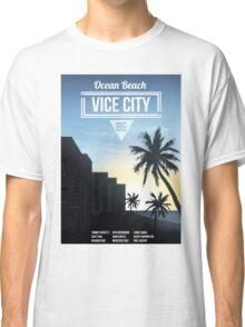 Vice City - Ocean Beach  Classic T-Shirt