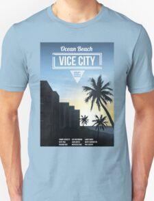 Vice City - Ocean Beach  Unisex T-Shirt