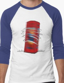 Heroes, Use in Case of Emergency Men's Baseball ¾ T-Shirt