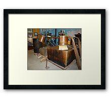 Moonshine Still Framed Print